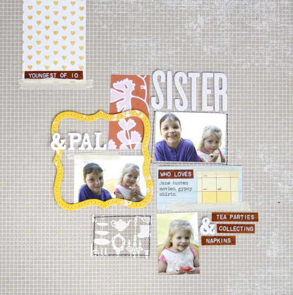 Sister & pal