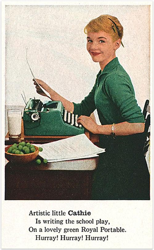 Vintage-typewriter-lady
