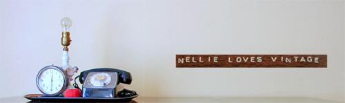 Nellie loves vintage