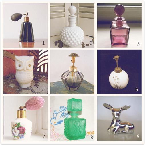 Perfume bottles copy