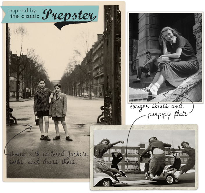 Preppy-vintage
