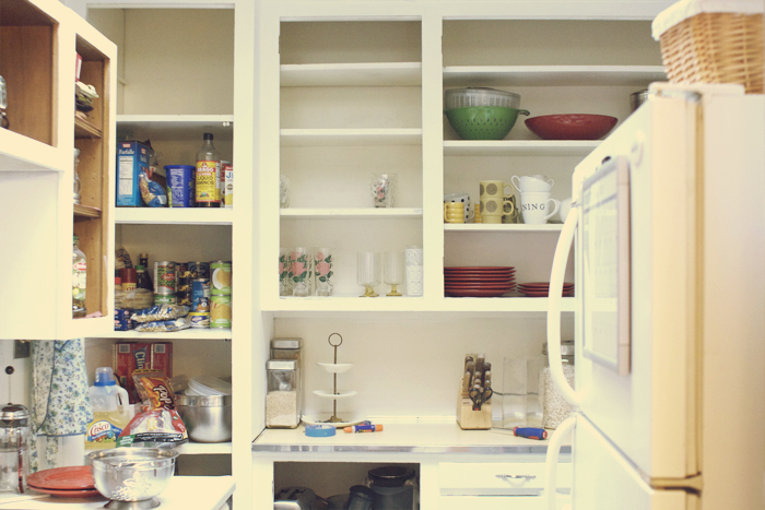 Kitchen Cabinets No Doors