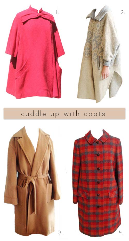 Cuddle up with coats
