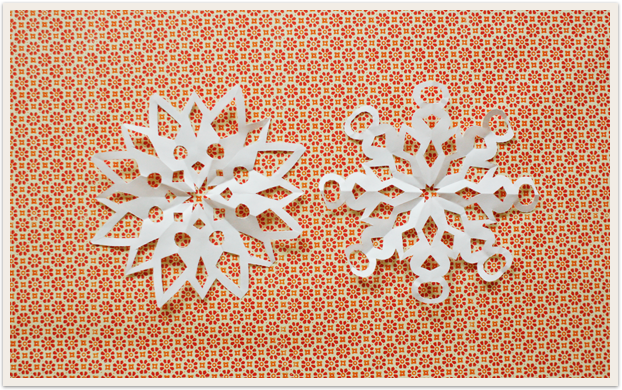 The Art of Making a Paper Snowflake - Making Nice in the Midwest