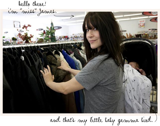 James thrift store 1