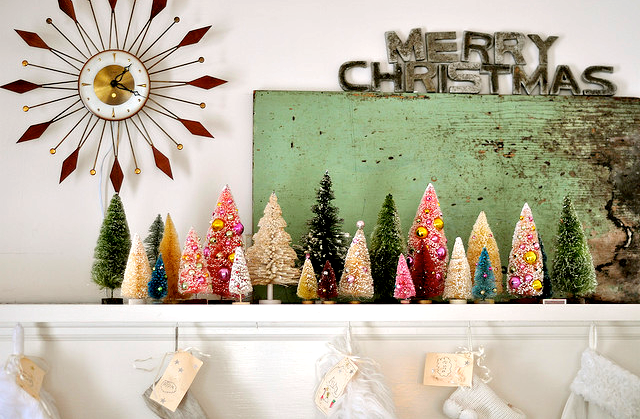 Vintage-bristle-brush-christmas-trees