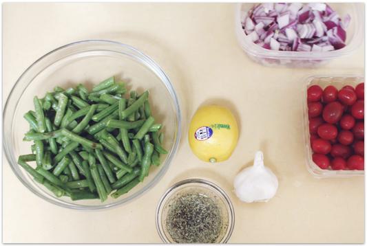 Raw-green-bean-salad