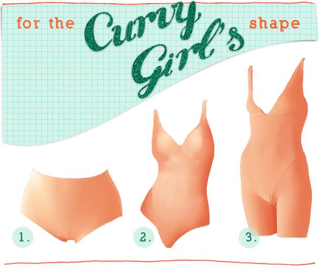Curvy-shapewear