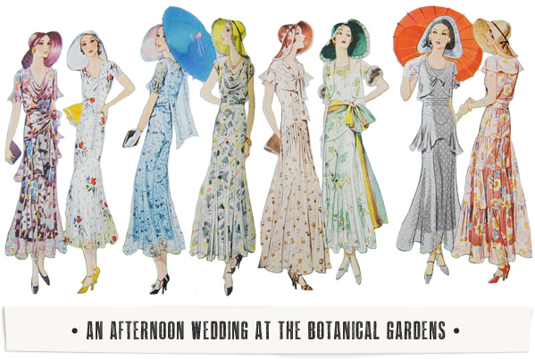 Reader Request: What To Wear To A 1930s Wedding