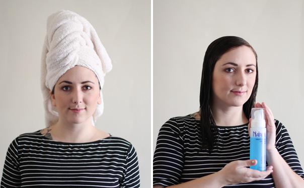 Glamour-hair-step-one