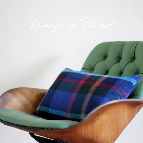 Blazer-to-pillow