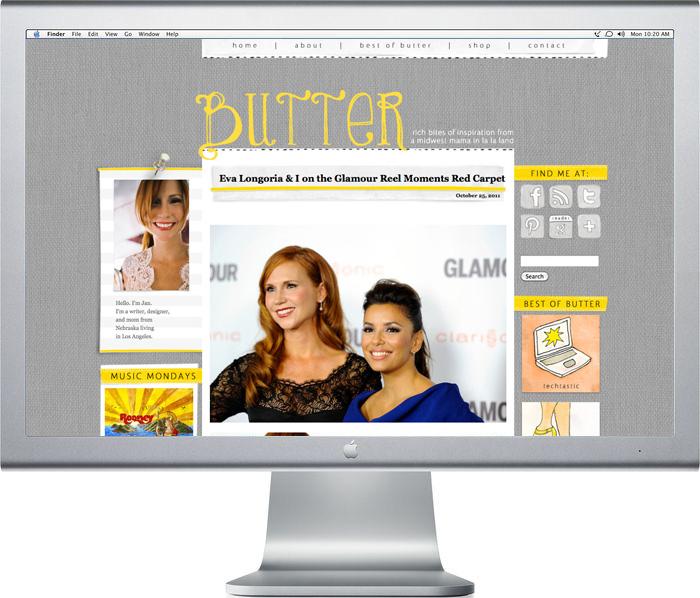 Butter-screen