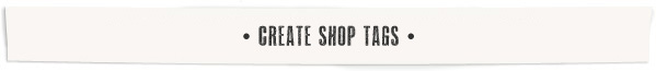 Shop-tags