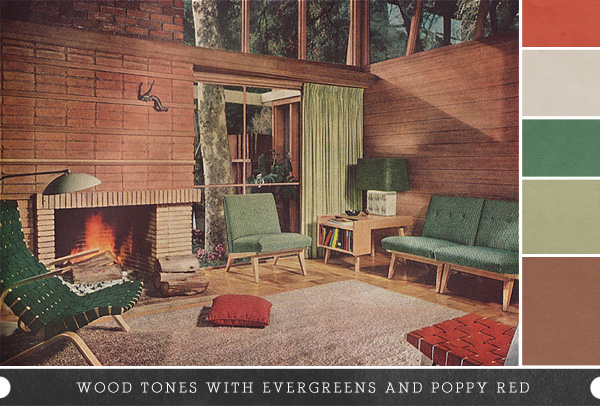 Earthy Colors inspired by: earthy colors in vintage homes - making nice in the