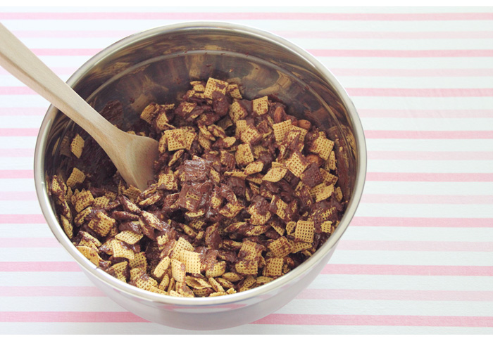 Almond-joy-puppy-chow-mixings